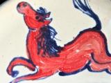 Pferd weiß-bunt