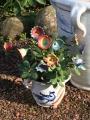 Keramik-Blumen klein