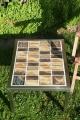 Tisch Fliesen braun 50x65