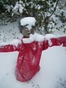 Skulptur Schnee