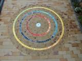 Pflasterkreis 5x5 cm