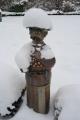 Säulenmann Schnee