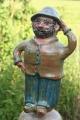 Keramikfigur Mann Stele