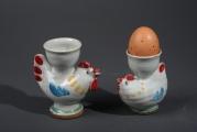 Eierbecher Huhn Hahn
