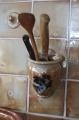 Küche-Kochlöffel-Hänge-Topf braun-shino