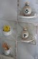 Küchenfliesen Salz &Pfeffer Streichhölzer Zahnstocher