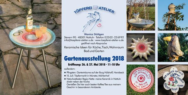 Einladung Gartenausstellung 2018